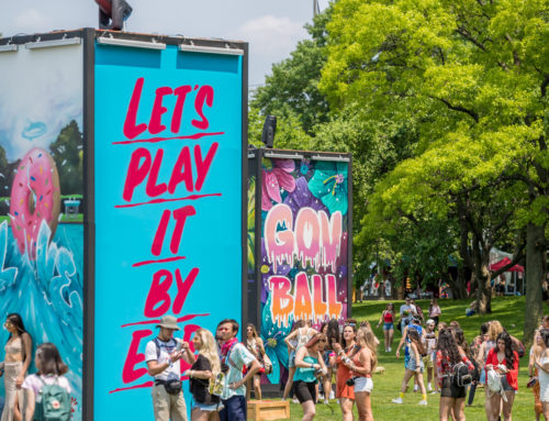 GovBallNYC Music Festival Graffiti Backdrop Photo Op