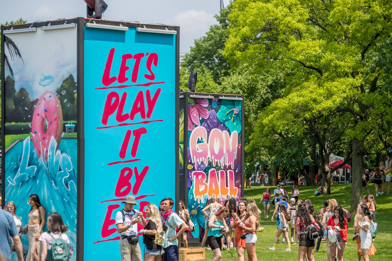 NYC Festival Backdrop