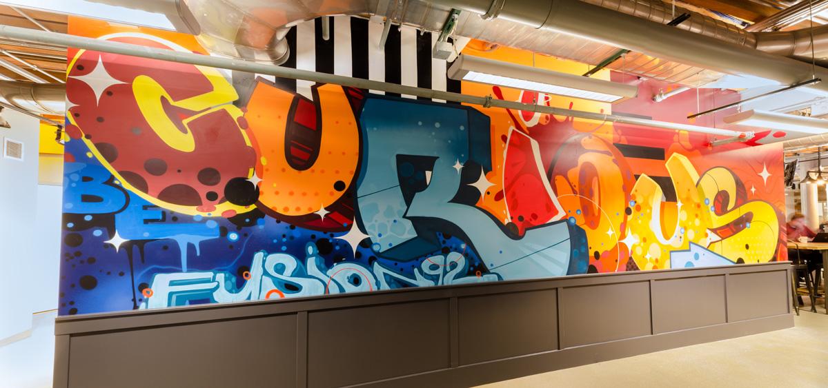 Portland Graffiti Artist for Hire - Oregon Office Mural