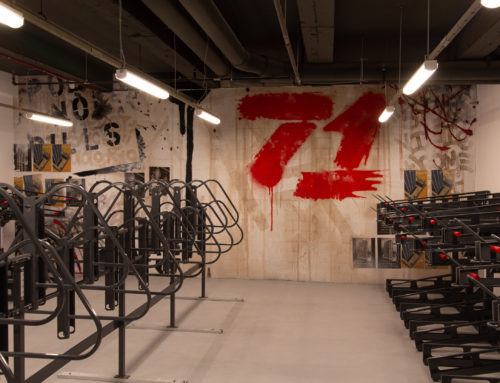 Rockefeller Group – Bike Storage Room Mural Art