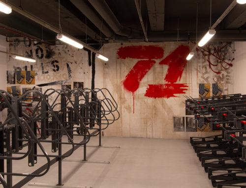 Rockefeller Group – Bike Storage Room Mural Art
