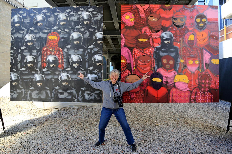 Banksy Os Gemeos & Martha Cooper