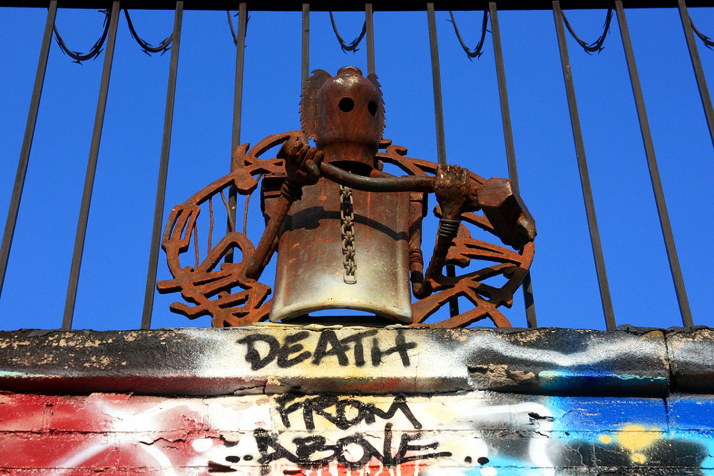 Revs Sculpture NYC Graffiti Punk Rock