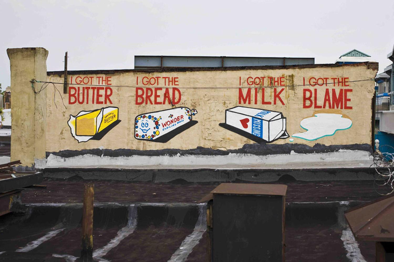 Steve Powers Mural in Philadelphia