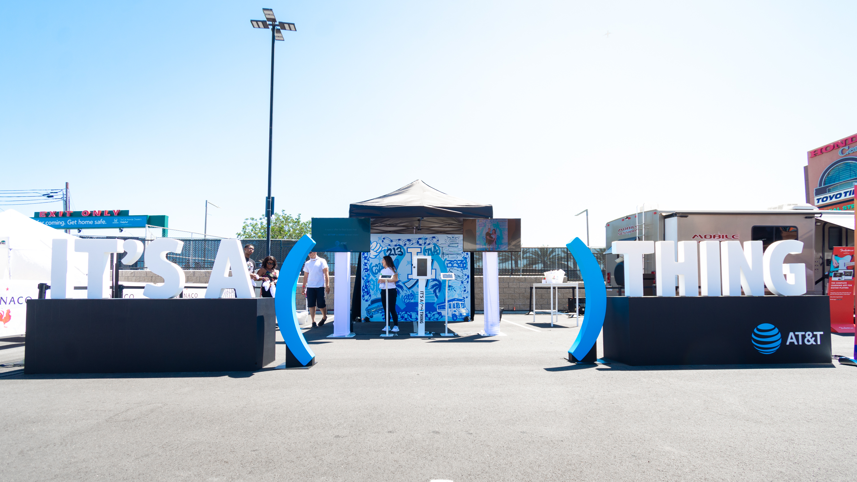 Event AT&T Backdrop Photo Wall