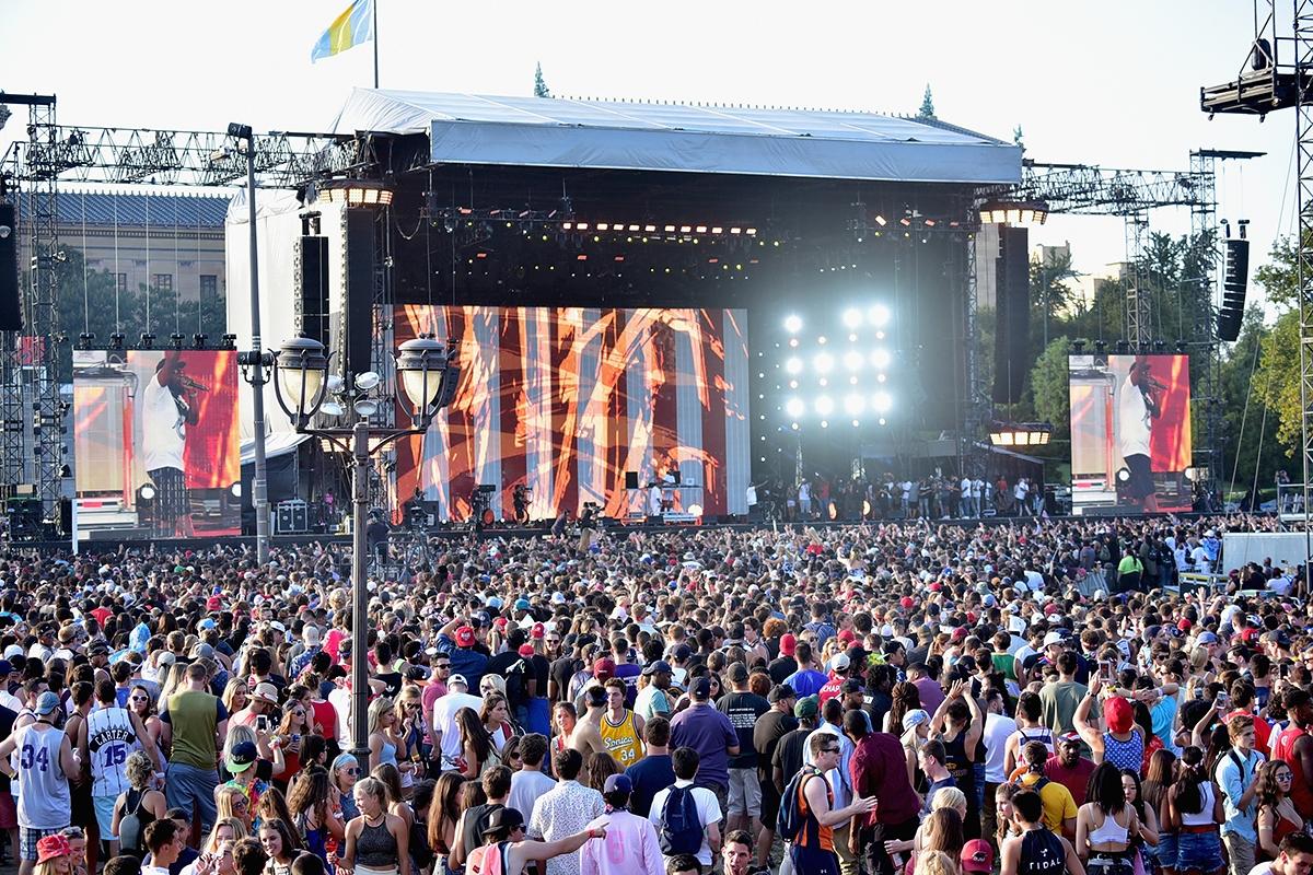 Made in America Festival Crowd
