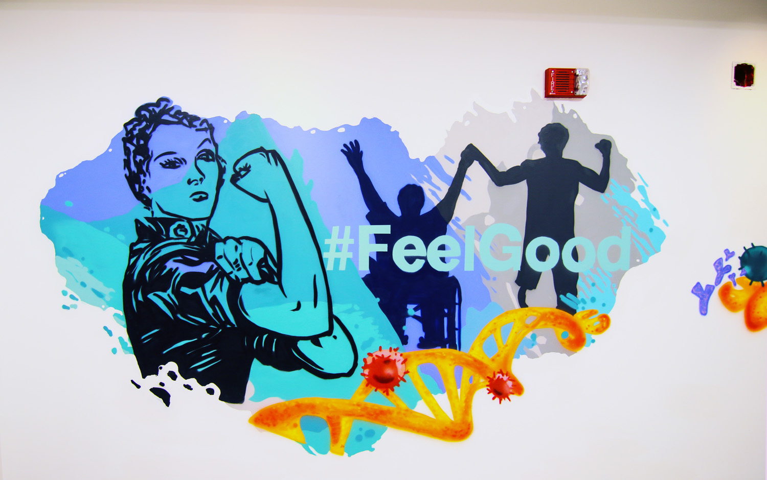 Medical Office Mural Art