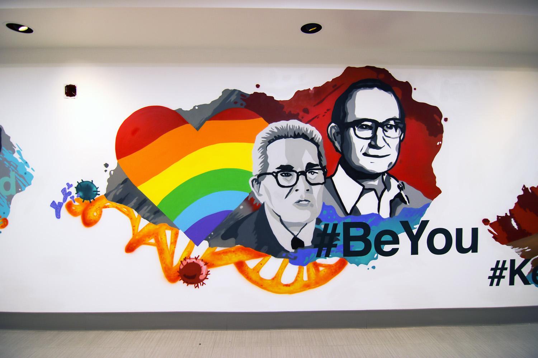 Pharma Office Mural