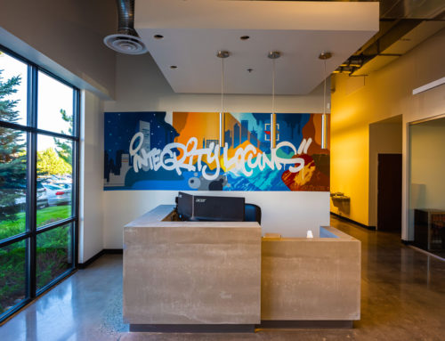 Integrity Locums – Denver Office Graffiti Mural