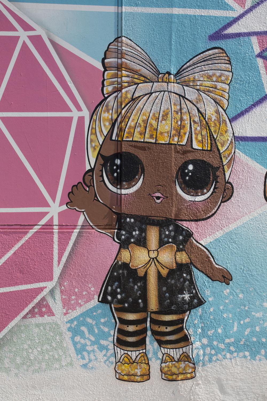 outdoor mural art