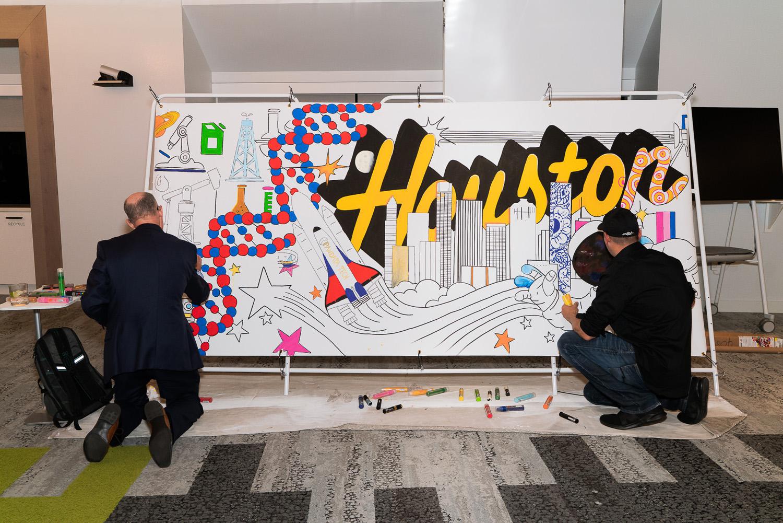 Houston Interactive Art Event