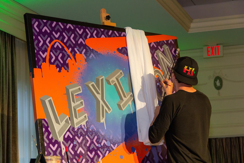 St. Louis Live Graffiti Art