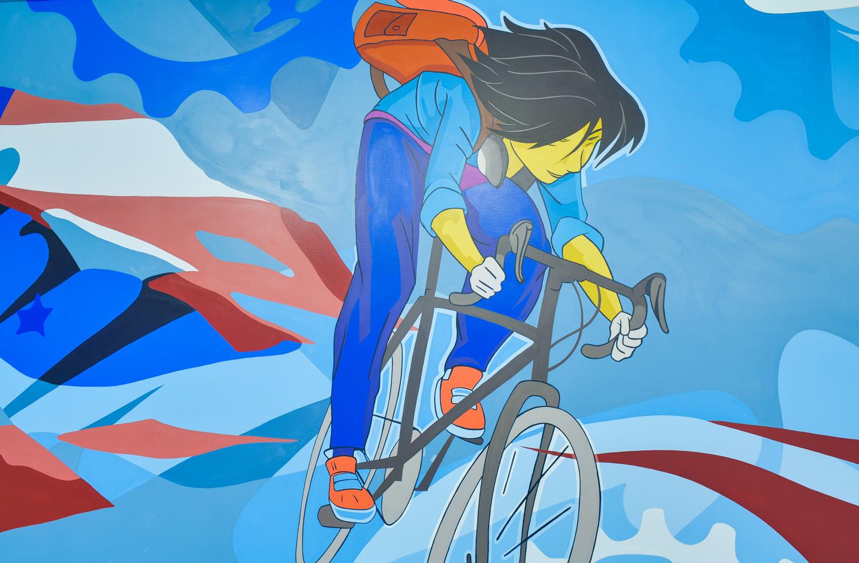 Virginia mural artist