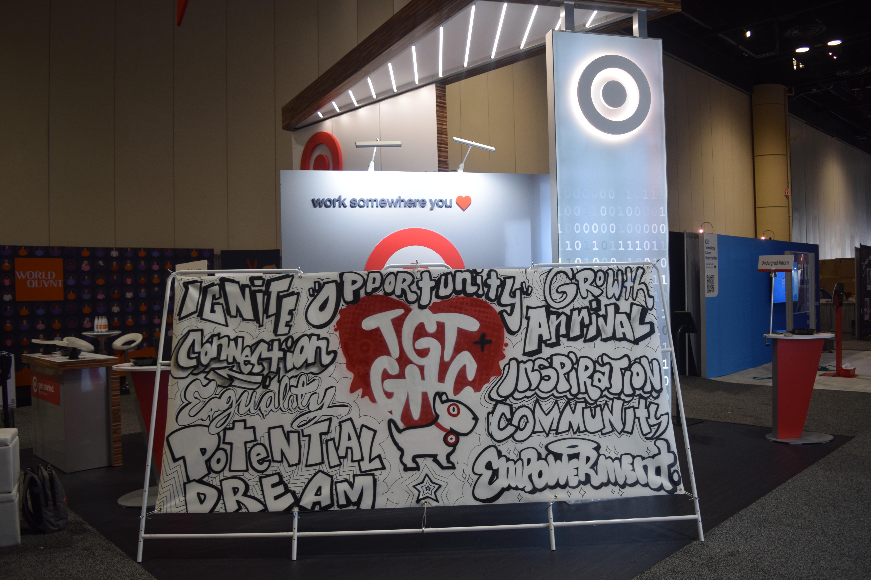 Orlando Convention Coloring Mural