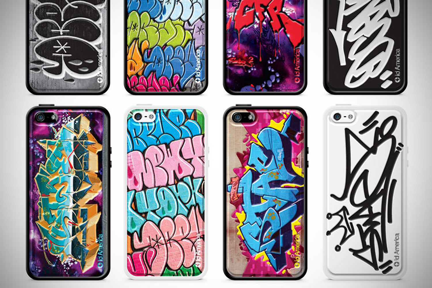 iPhone Case Graffiti Design