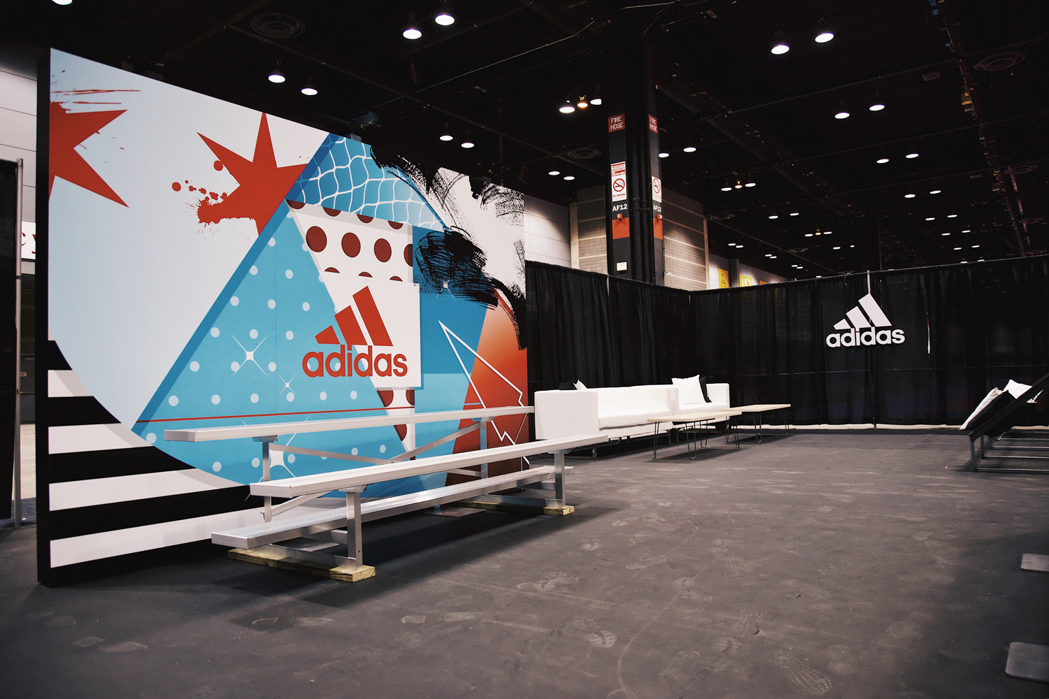 Adidas Digital Design Backdrop