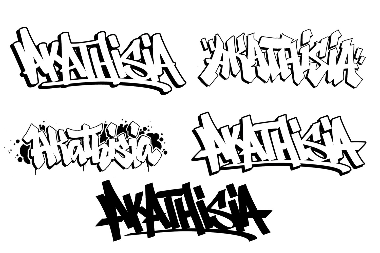 Graffiti Lettering Design