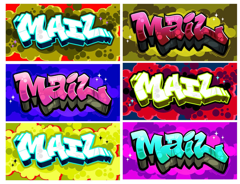 Wildstyle Graffiti Lettering