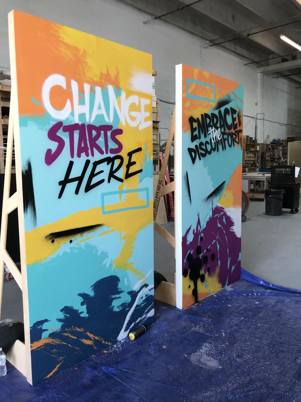 Miami Canvas Art for Event