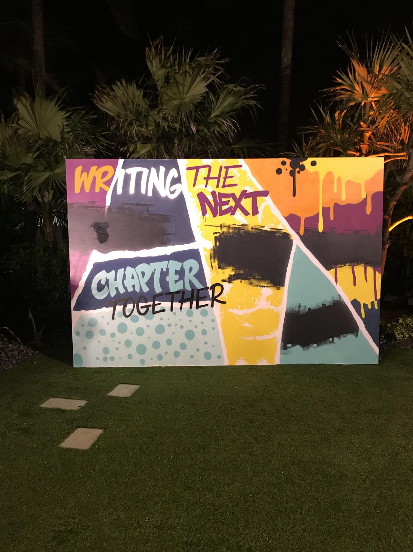 Custom Graffiti Art by Miami Street Art Company