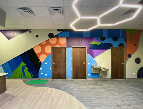 Chicago Interior Mural for Animal Hospital