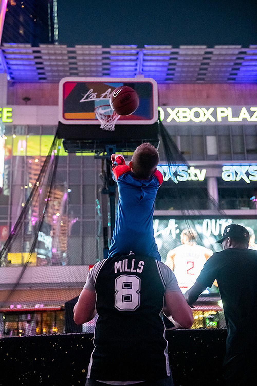 Long Beach Basketball Hoop Fabrication