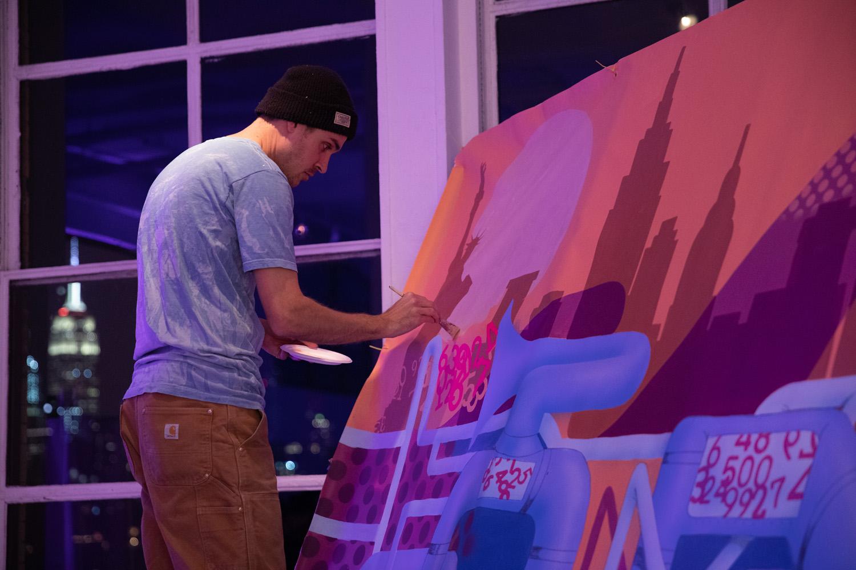 Graffiti USA's Live Mural Artist