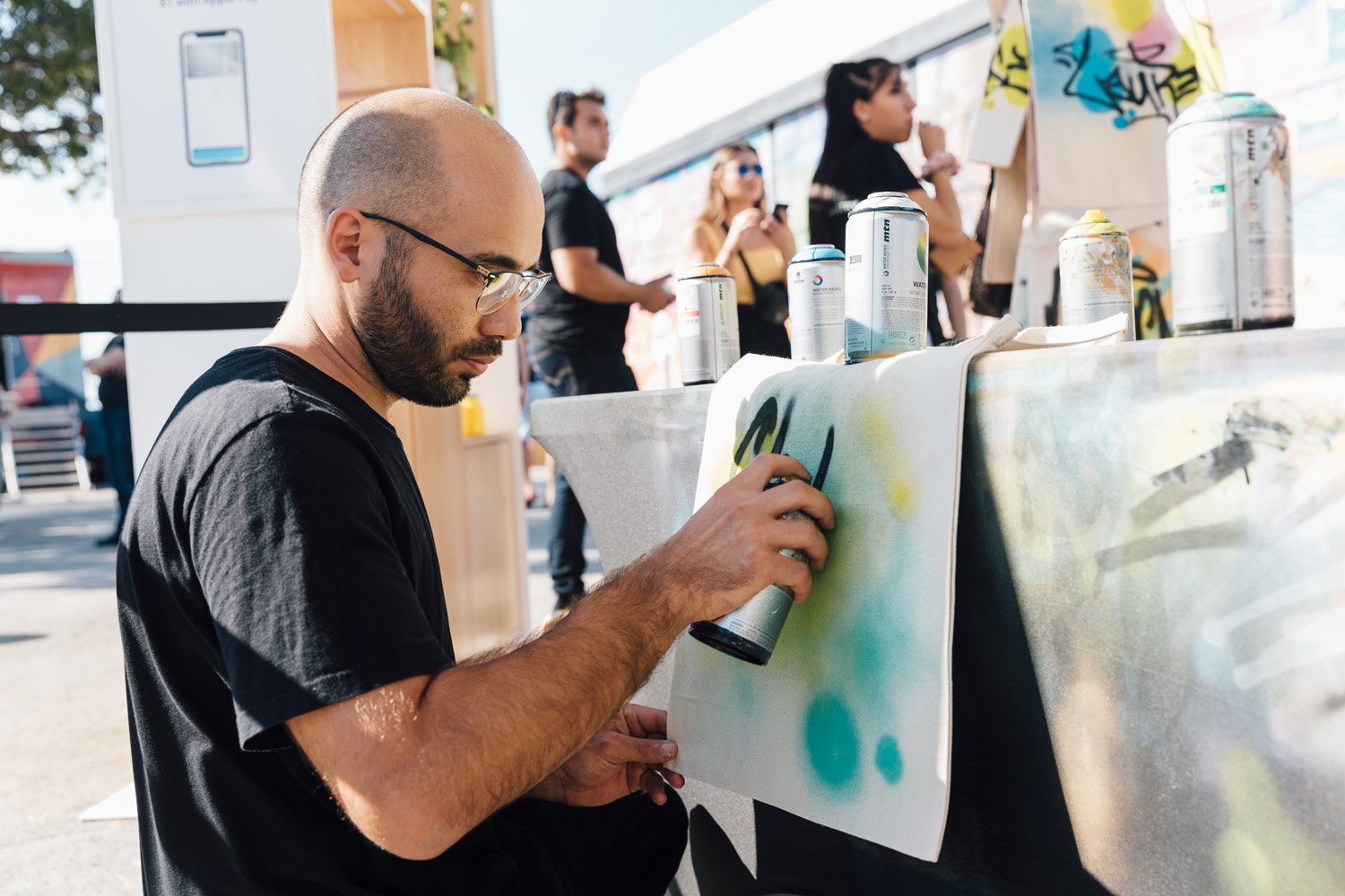 Miami Live Art - Apple Pay 2019