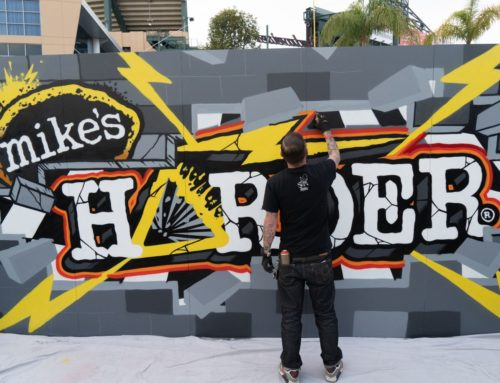 Mike's Harder x Motorcross Live Art in Anaheim