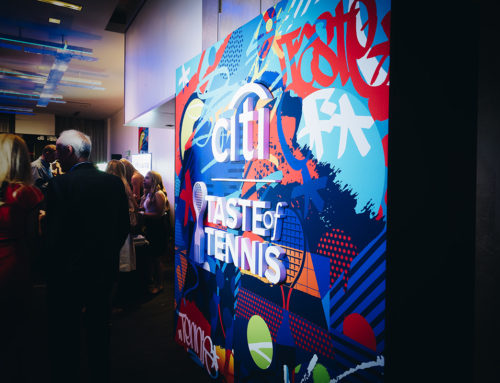 Tennis Event Custom Graphics