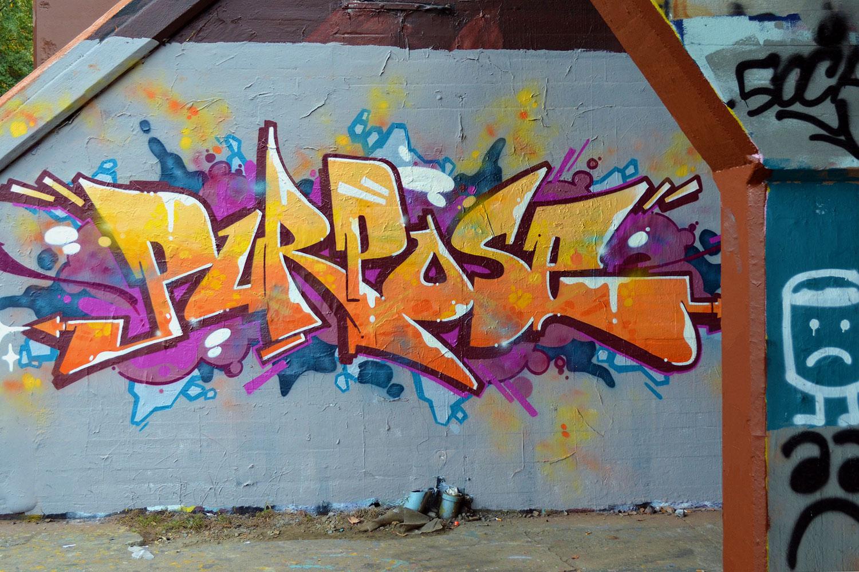 Purpose Exterior Mural