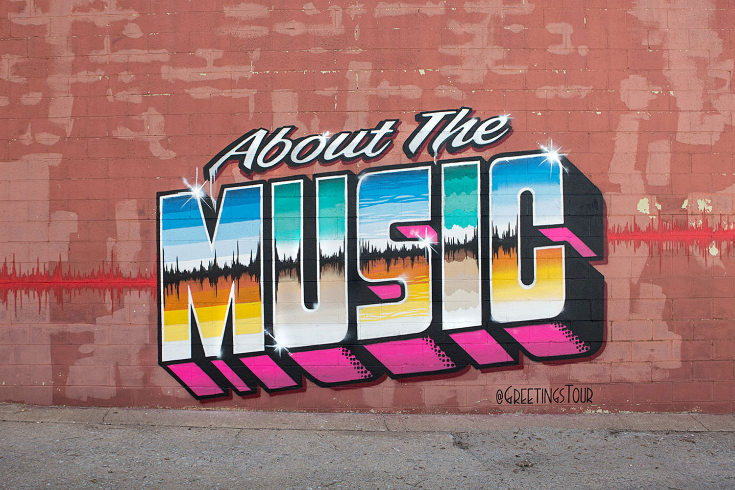 About The Music Street Art