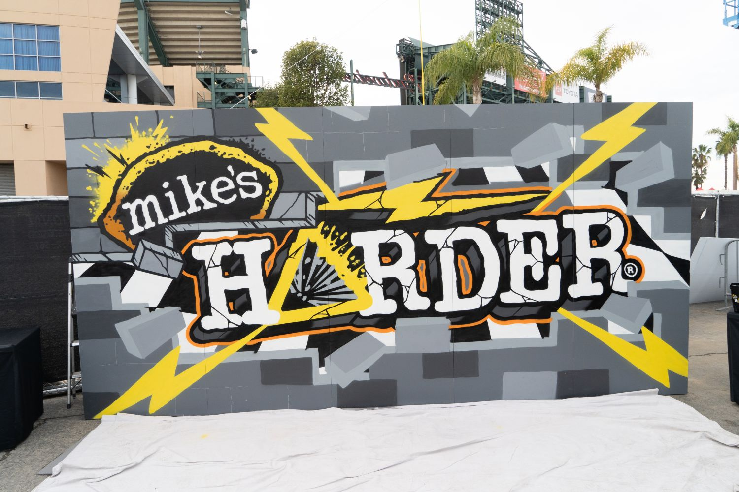 Motorcross Live Art Event - Mike's Hard Mural