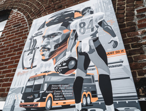Mural Art for Sports Philanthropists