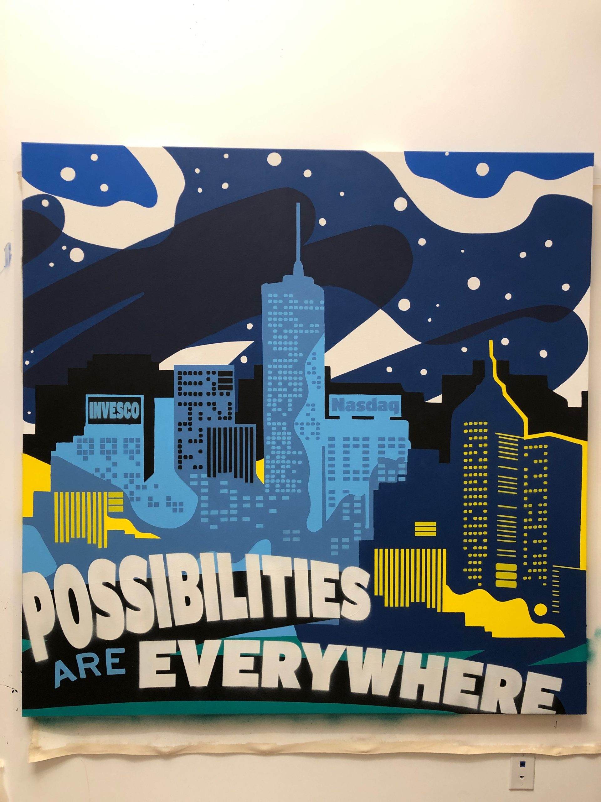 Possibilities are Everywhere Mural