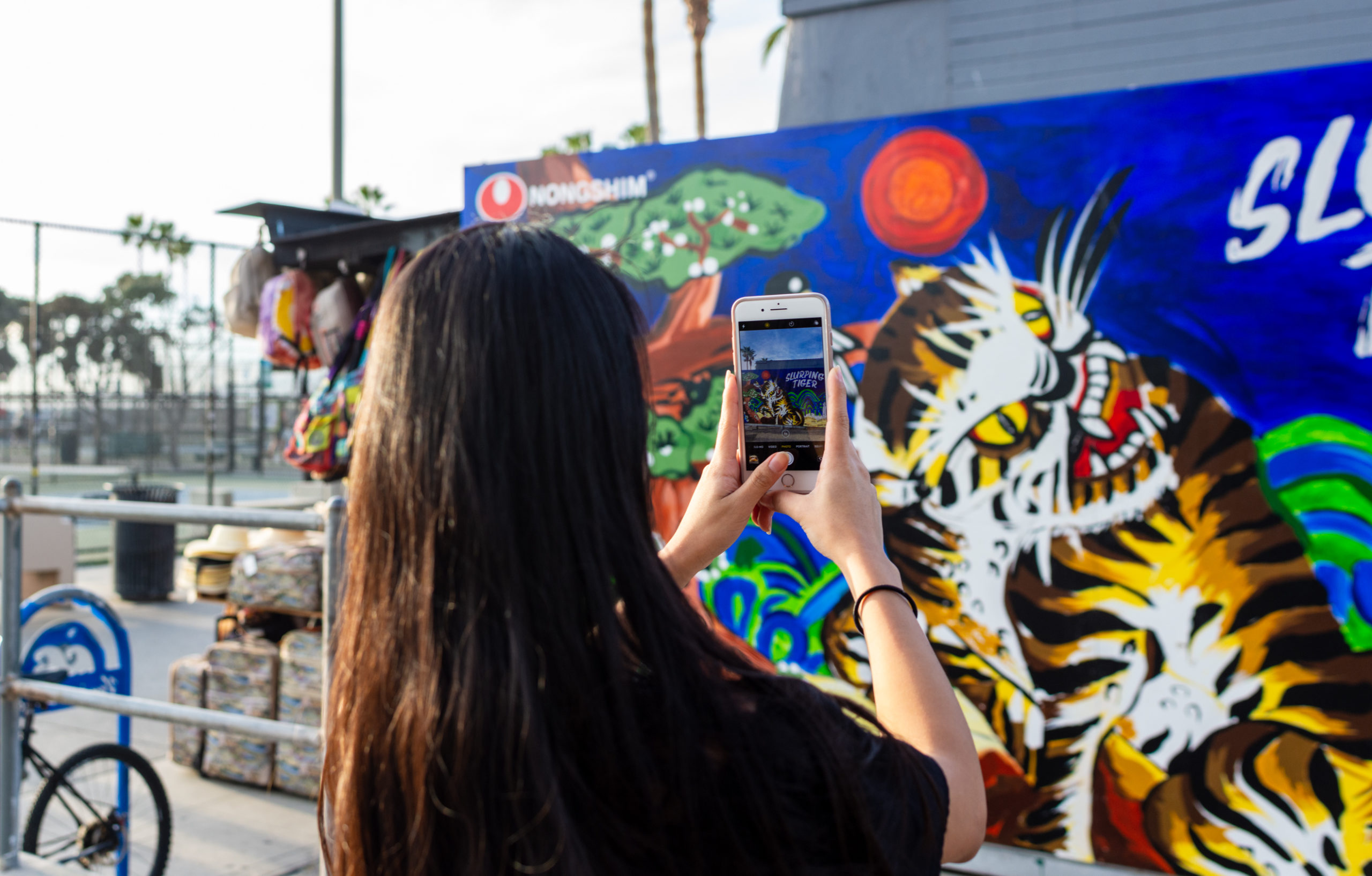 Instagram Ready Mural in Venice Beach