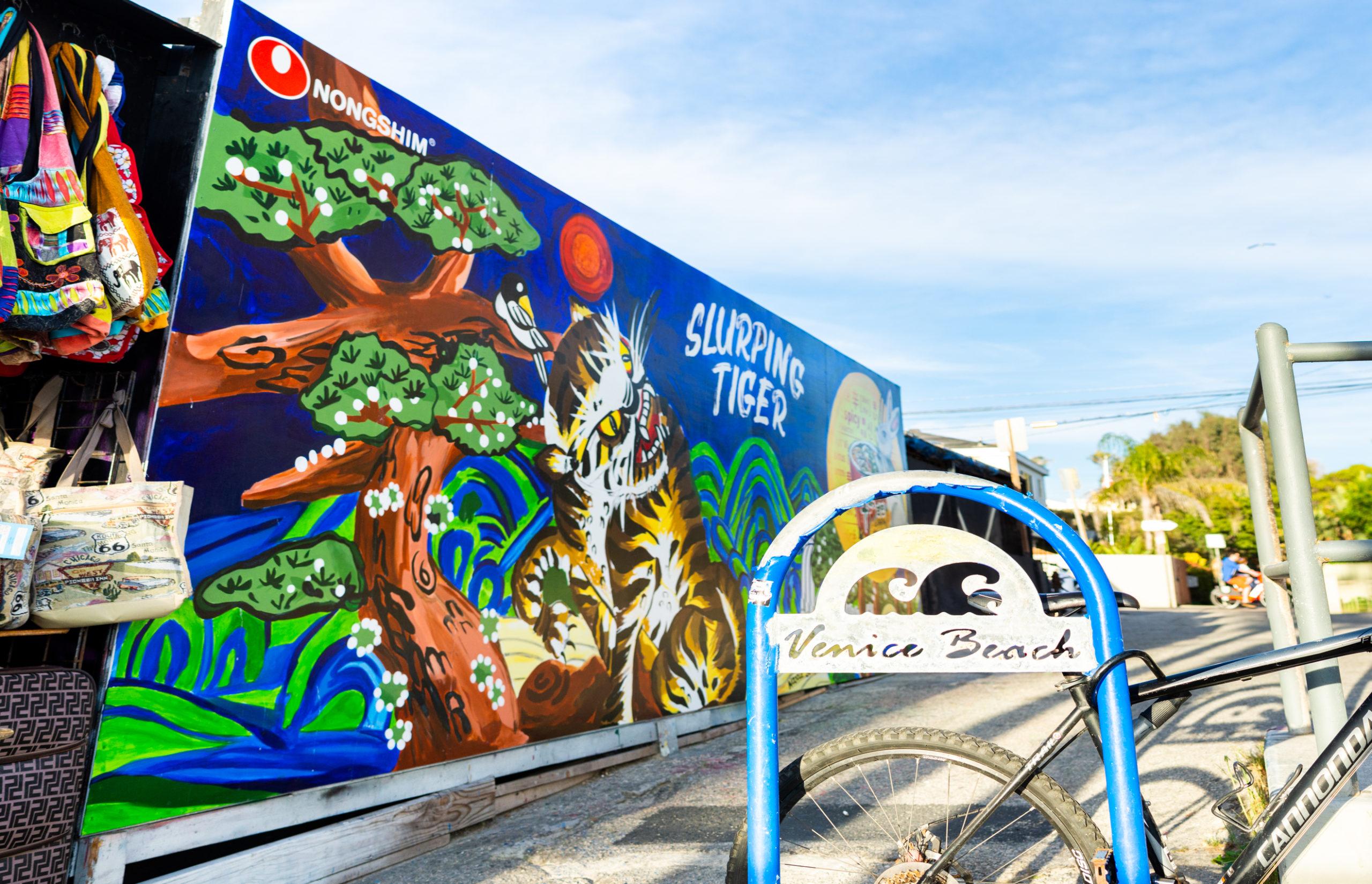 Outdoor Mural in Venice Beach