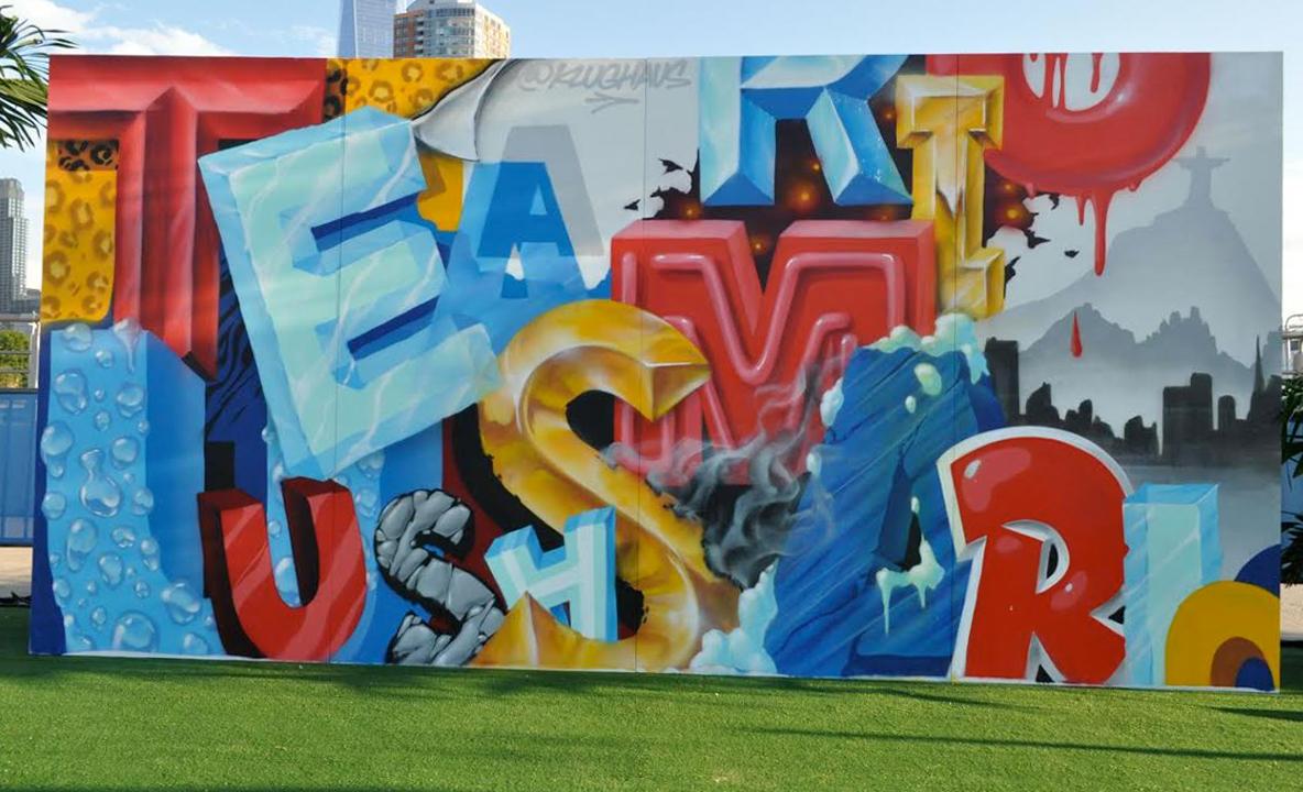 Graffiti Letter Collage