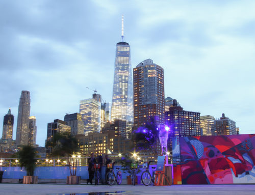 Live Murals for Rio on the Hudson Event