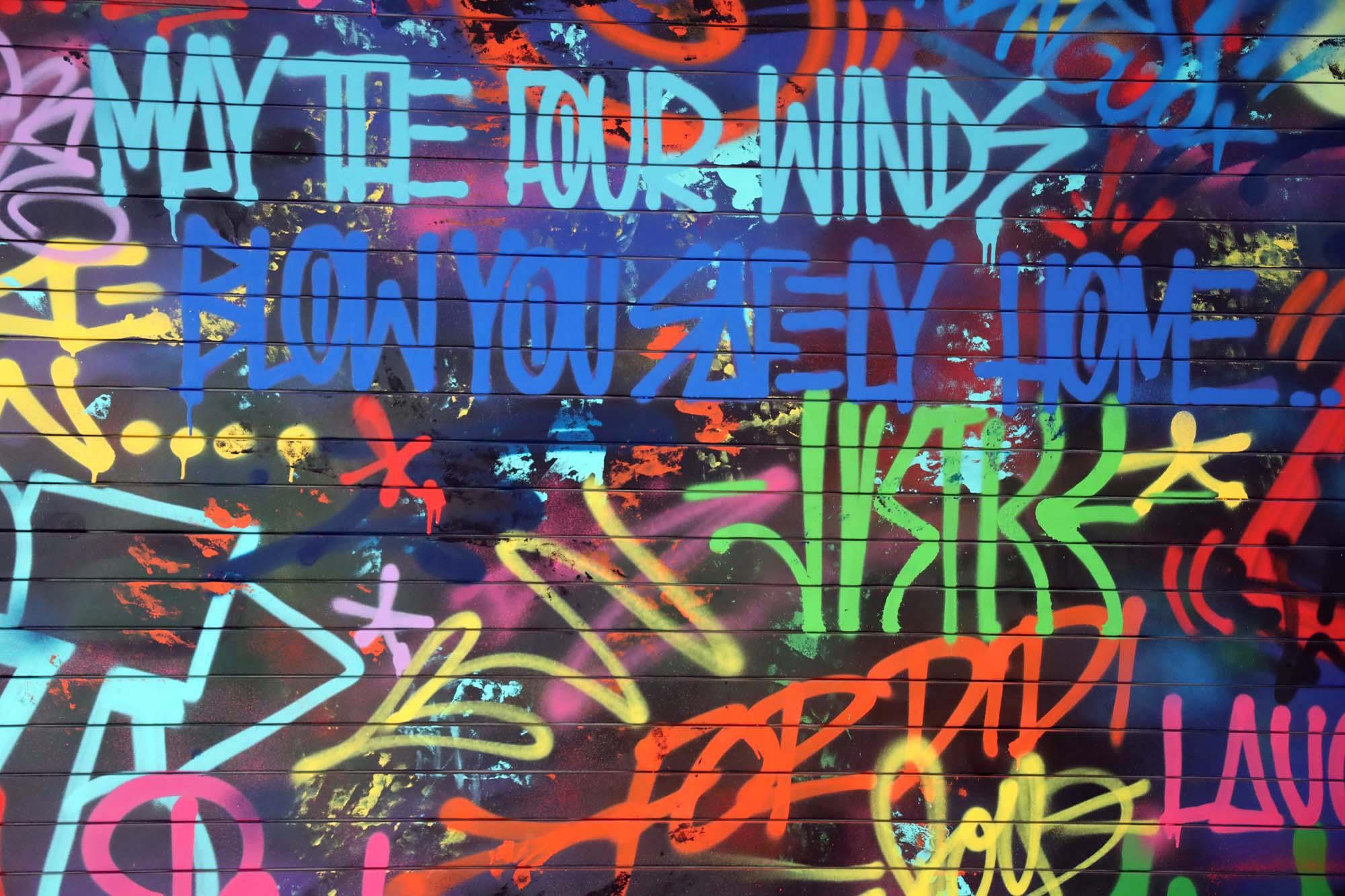 Graffiti Tag Quotes Detail