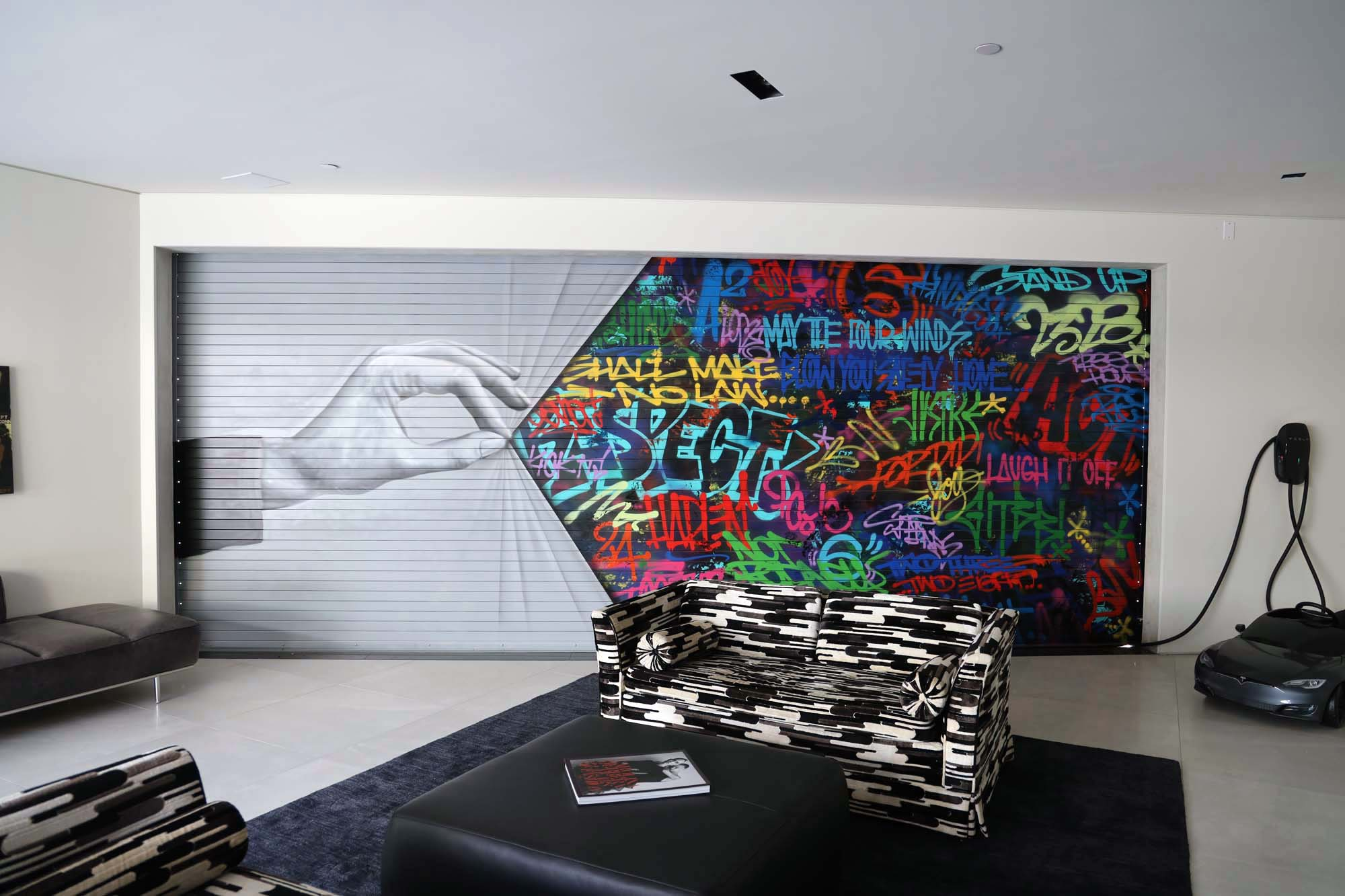 Completed Street Art Mural