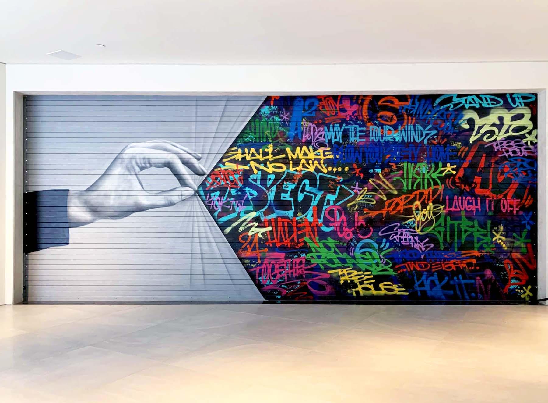 Street Art Mural Graffiti Residential Art