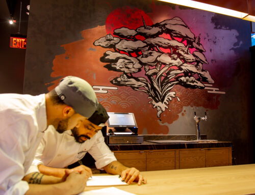 Asian Street Art for Wagamama