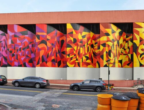 Public Art Mural for Towson Library in Maryland