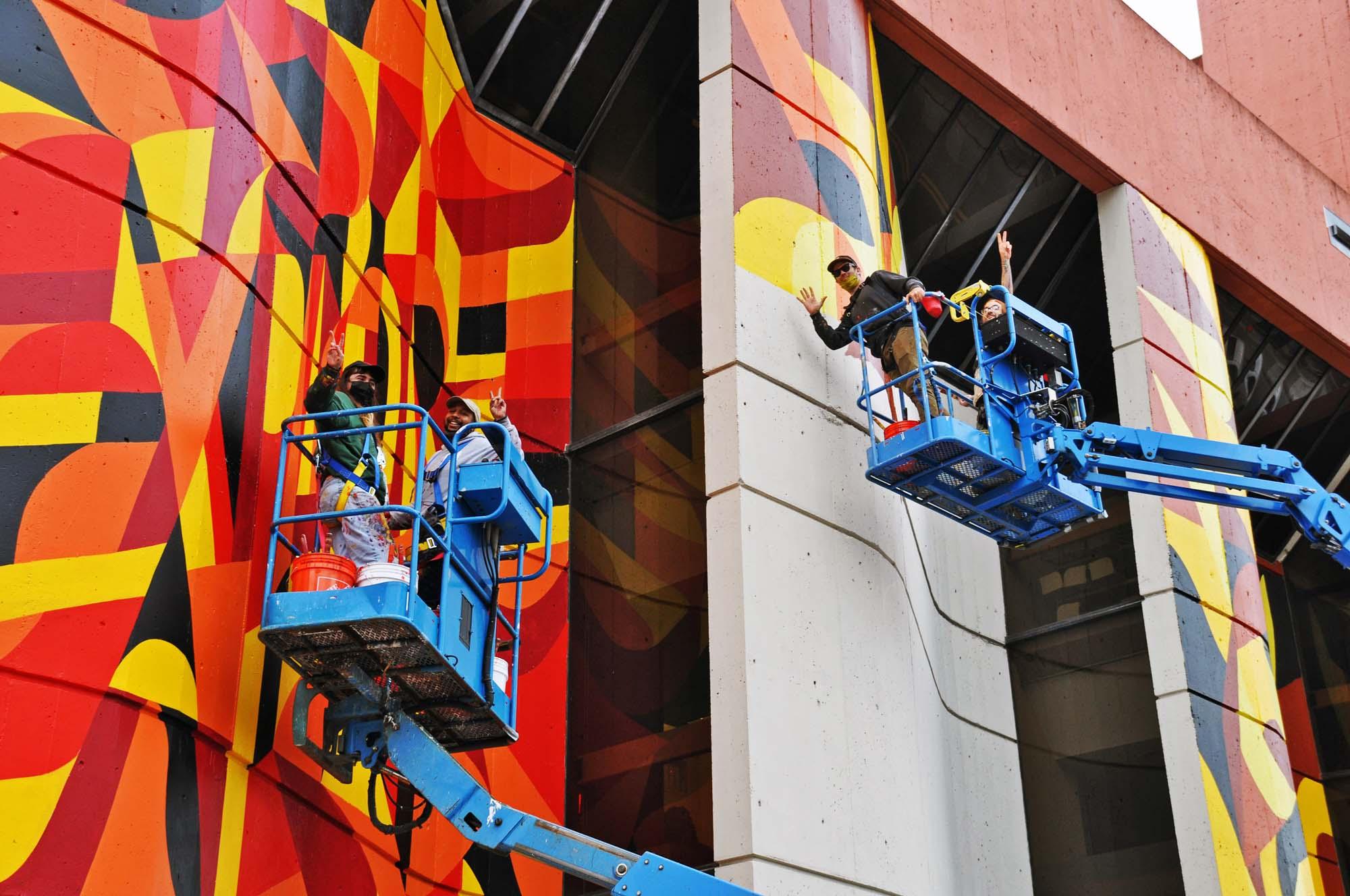 Ryan Adams Mural Art Installation