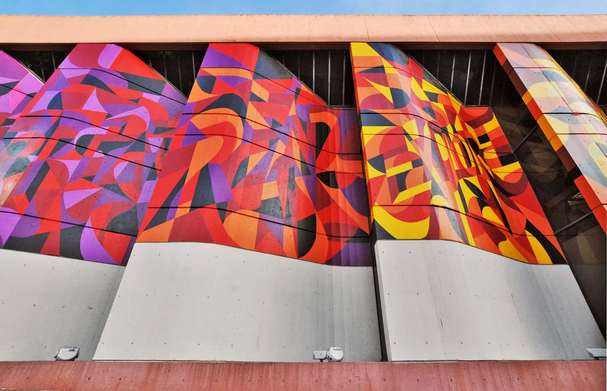 Street Art Mural Panel