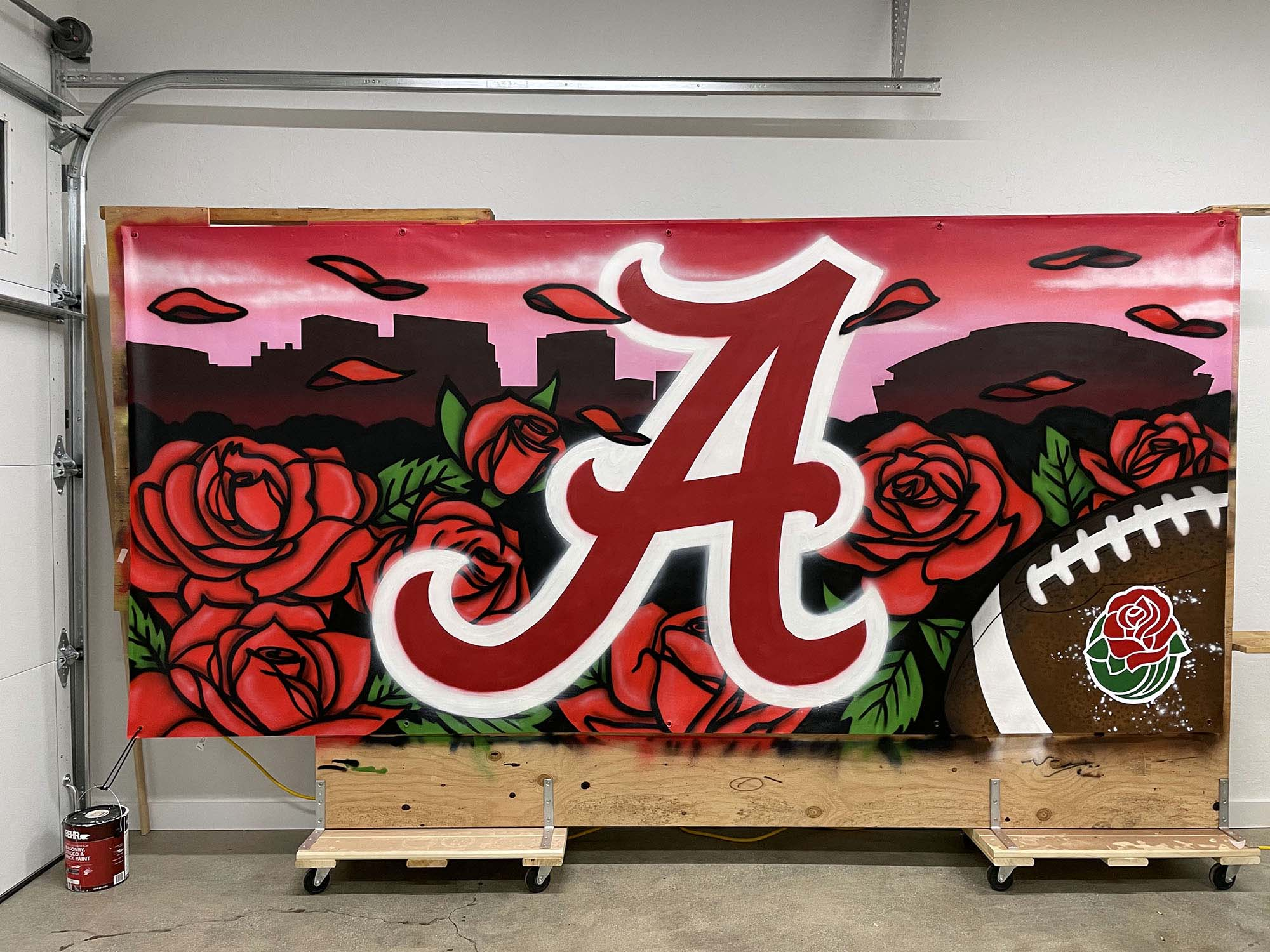 Alabama Rose Bowl 2020 - Pasadena Artist