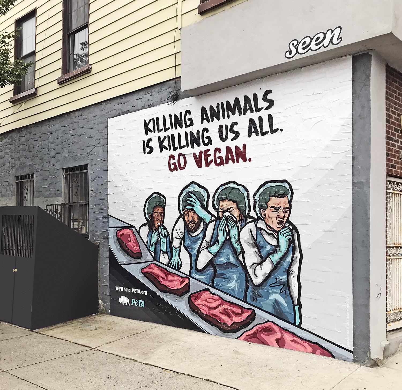 Brooklyn Mural Ad