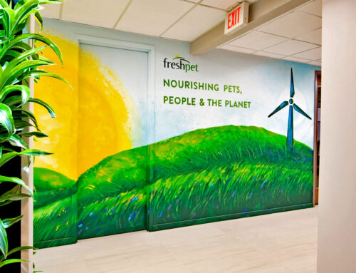 Street Art Remix for FreshPet's Headquarters in NJ