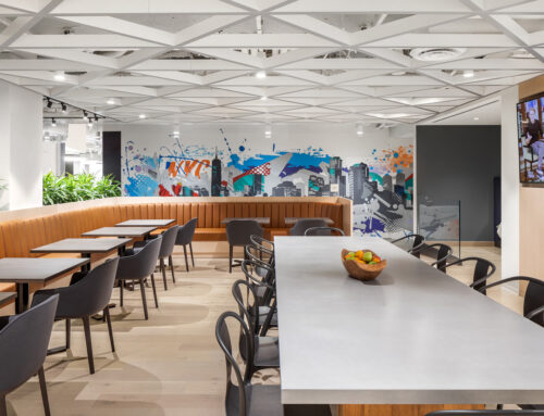 Lendlease Contemporary Office Mural in NYC